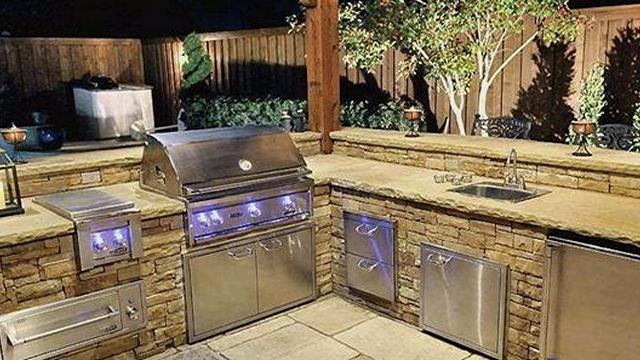 Outdoor Kitchens Gallery Texas Pool Finders & Outdoor ...