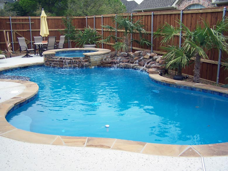 Custom pool builders hobert pools spas for Custom pool builder