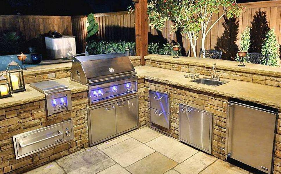 Texas Pool Finders & Outdoors Backyard Kitchens